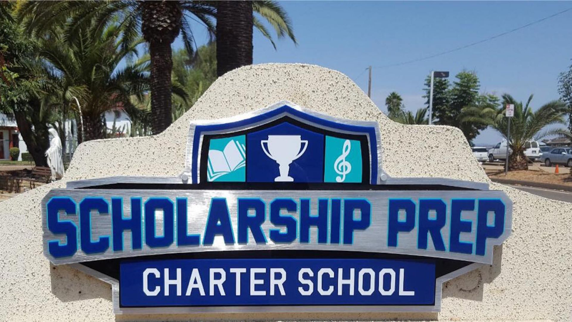 Scholarship Prep - Oceanside Gets A New Marquee